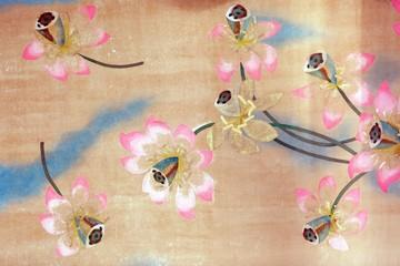 lotus flower paintings