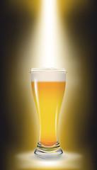 Birra illuminata