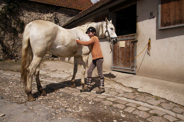 enfant pansage cheval 4