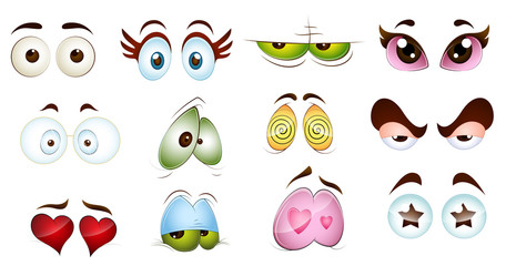 Cartoon Character Eyes