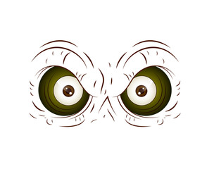 Cartoon Owl Eye