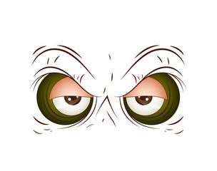 Brown Cartoon Eye