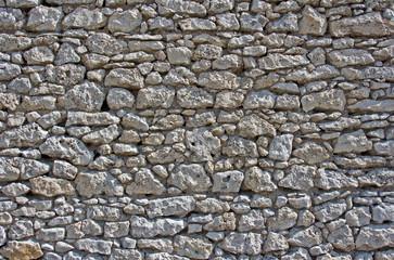 Mur średniowiecznego zamku, Jura
