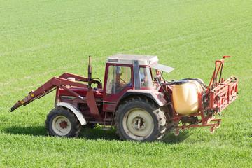 Landwirtschaft im Frühling