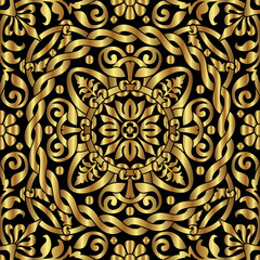 gold asian ornament