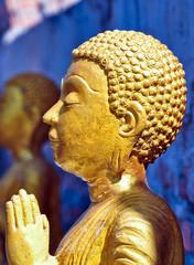 image of praying monk