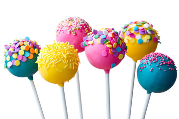 Canvas Prints Candy Cake pops