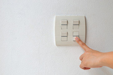 turn electrical switch off