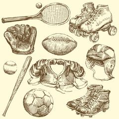 vintage sports equipment