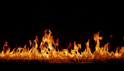 Photo sur Aluminium Flamme Fire