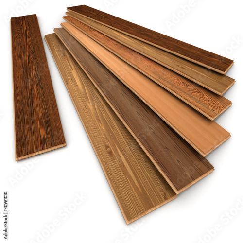 Pose de parquet bois plancher flottant 02 photo libre for Parquet flottant sur plancher bois