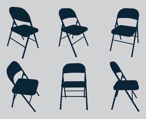Vector Chair Silhouettes