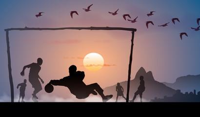Enfants foot Brésil 2014 - 2