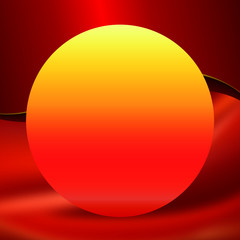 carte invitation boule soleil concept luminaire lampe