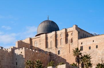 Al-Aqsa mosque in Jerusalem, Israel