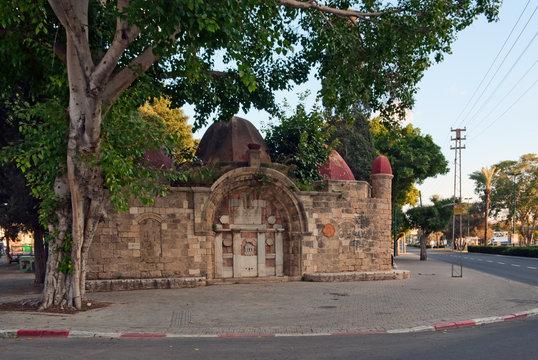 Sabil Abu Nabut fountain in Jaffa, Israel