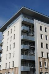 Ile de France, residential block in Courdimanche