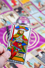 Roy d'Epee (King of Swords), Marseilles Tarot