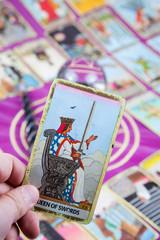 Queen of Swords, Tarot card, Major Arcana