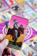 Knight of Pentacles, Tarot card, Major Arcana