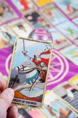 Knight of Swords, Tarot card, Major Arcana