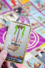 Ace of Swords, Tarot card, Major Arcana