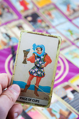 Page of Cups, Tarot card, Major Arcana