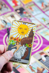 The Sun, Tarot card, Major Arcana