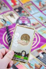 Ace of Pentacles, Tarot card, Major Arcana