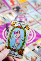 The World, Tarot card, Major Arcana