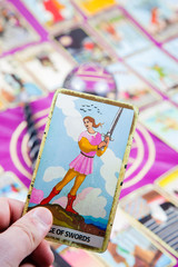 Page of Swords, Tarot card, Major Arcana