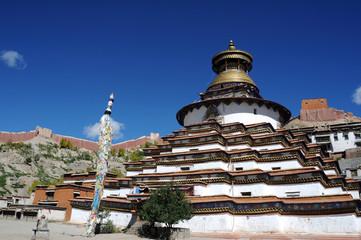 Gyantse lamasery,Tibet