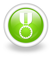 "Light Green Icon ""Award Medal"""