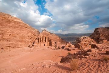 Monastery in Petra, Jordan