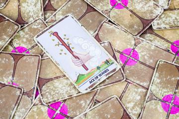 Ace of Wands, Tarot card, Major Arcana