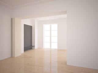 empty interior design