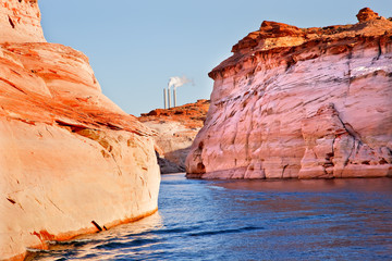 Navajo Generating Station Antelope Canyon Lake Powell Arizona