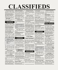 Fake Classified Ad