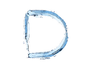 D letter water