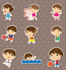 kid sport stickers