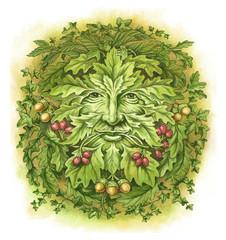 Green Man English Pagan symbol
