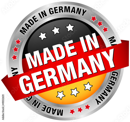 Quot Button Banner Quot Made In Germany Quot Quot Stock Image And Royalty