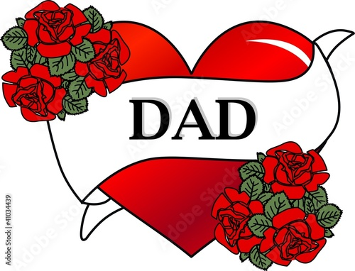 Fathers Day Tattoo Love Symbol Stock Photo And Royalty Free Images