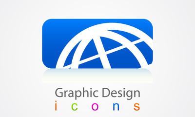 Element of graphic design logo.
