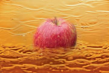 Fruchtiger Apfelsaft