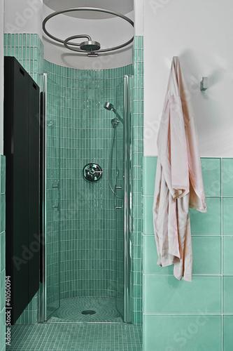 Doccia in muratura in bagno moderno immagini e fotografie royalty free su file - Bagno moderno in muratura ...
