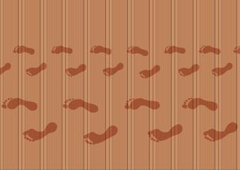 Fond Plancher Trace de pieds_Adulte_Enfant