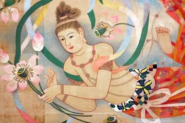 religious oriental paintings