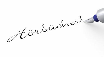 Stift Konzept - Hörbucher!