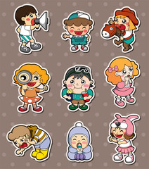 happy child stickers
